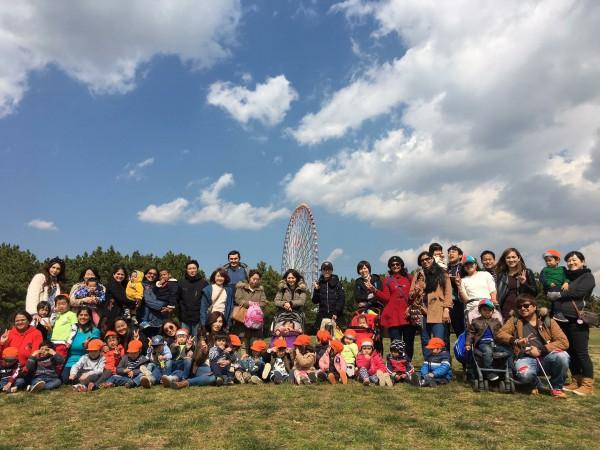葛西臨海公園 へ 親子の遠足